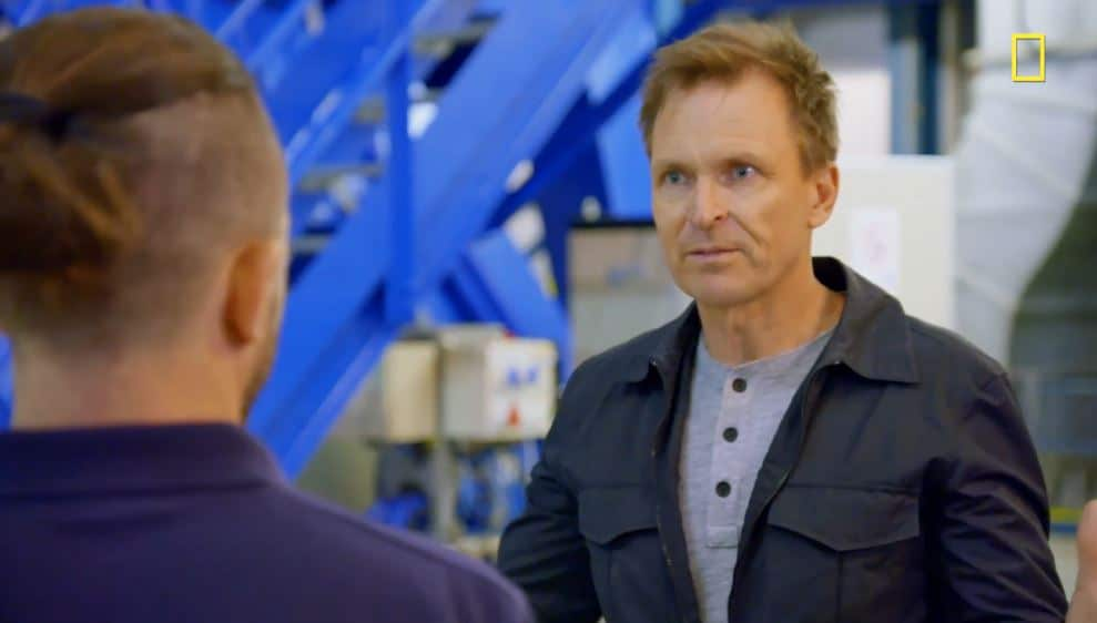 Phil Keoghan heads to Chile to the Atacama Desert to visit the Paranal telescope. Pic credit: Nat Geo