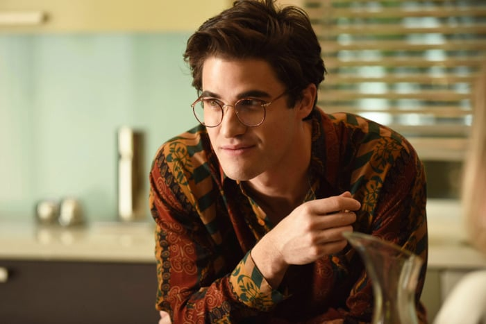 Criss was electric as Andrew Cunanan, a bright mind gone terribly wrong. Pic credit: FX