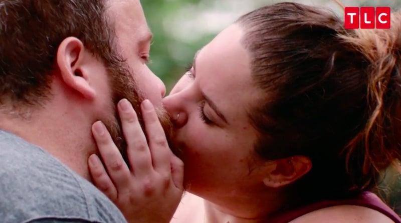 Whitney Thore kisses Buddy Bell on My Big Fat Fabulous Life Season 6