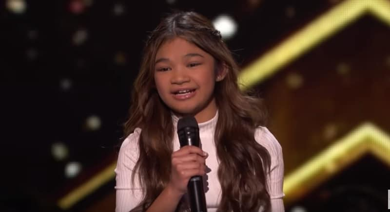 Angelica Hale performs on America's Got Talent: The Champions
