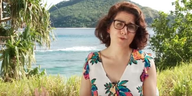 Aubry Bracco on the Survivor: Edge of Extinction cast