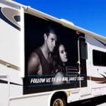 The RV Whitney, Todd, and Buddy traveled in for the BGDC tour