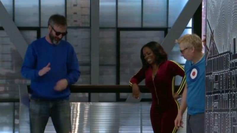 Kato Kaelin, Kandi Burruss, and Tom Green on Celebrity Big Brother