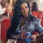 Cardi B in Pepsi Commercial