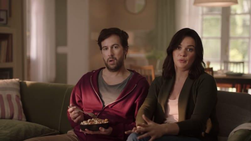 super bowl commercial porn