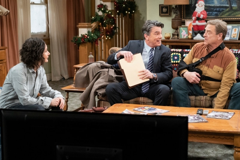Darlene Brian and Dan resized - The Conners is back with new episodes on ABC: Who got sued?