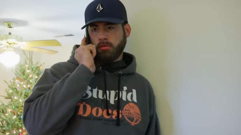 David Eason from when he was on Teen Mom 2