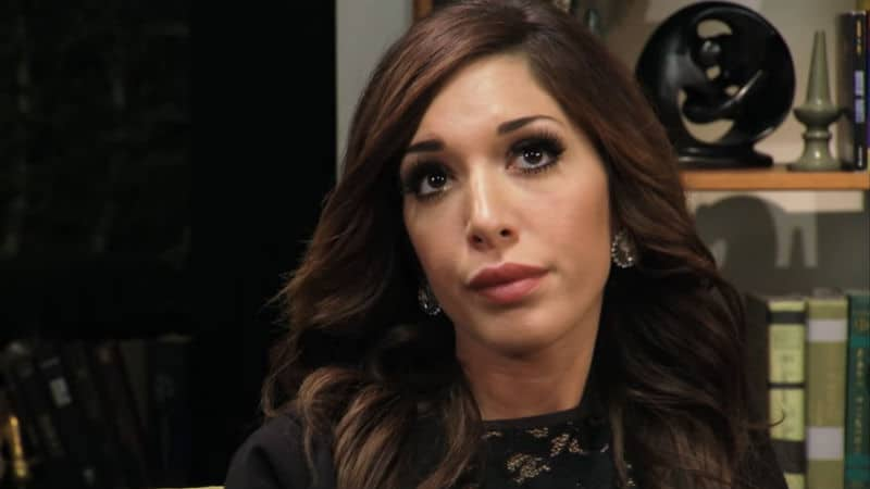 Farrah Abraham when she was on Couples Therapy with her mom