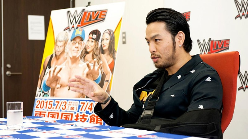 Hideo Itami leaving WWE