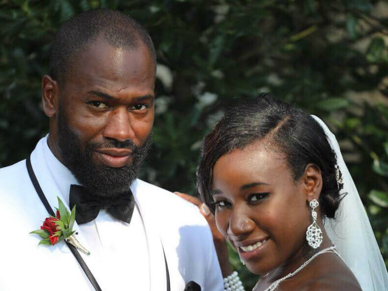 Jasmine McGriff and Will Guess didn't know each other before marrying on Season 8 of Married at First Sight. Pic credit: Terrance Harrison/Lifetime