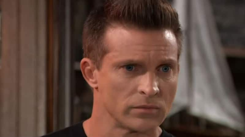 Steve Burton as Jason Morgan on General Hospital