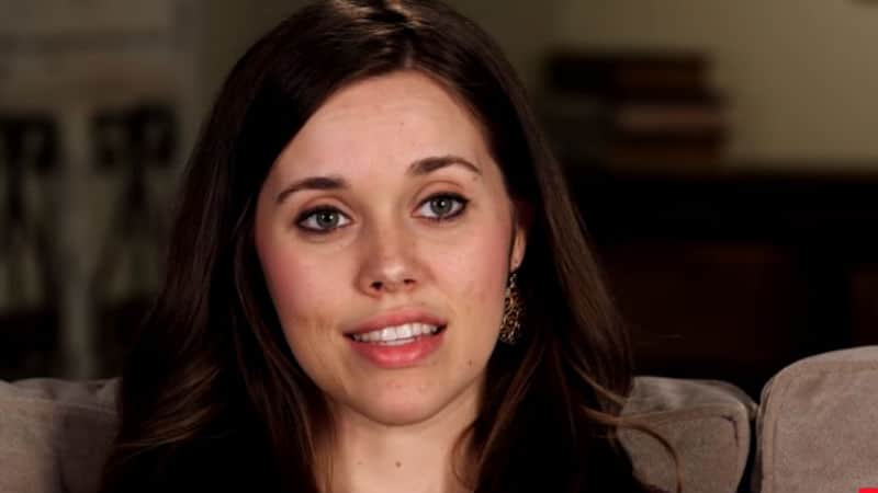 Jessa Duggar during a confessional on Counting On