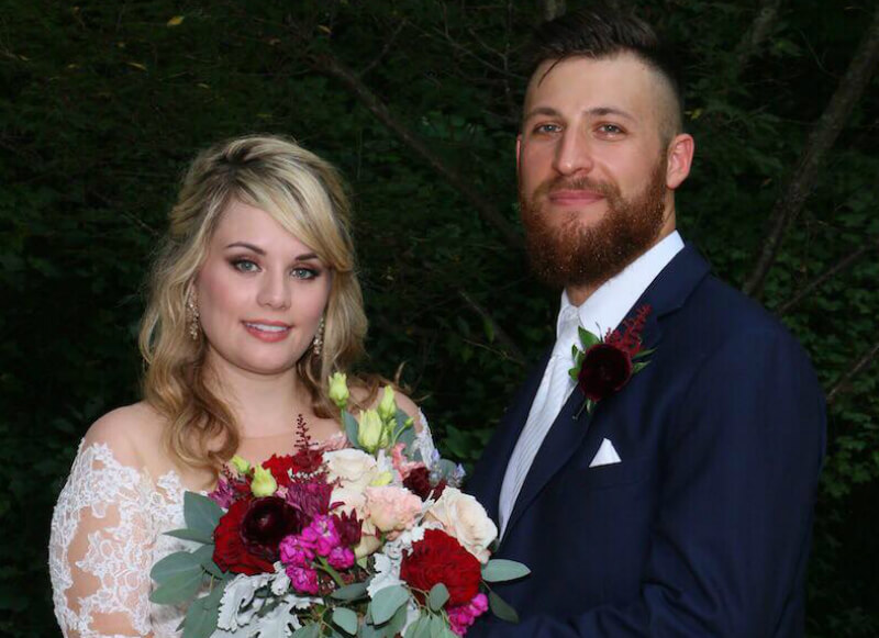 Kate Sisk and Luke Cuccarrulo are one of four couples to get married on Season 8 of Married at First Sight. Pic credit: Terrance Harrison/Lifetime