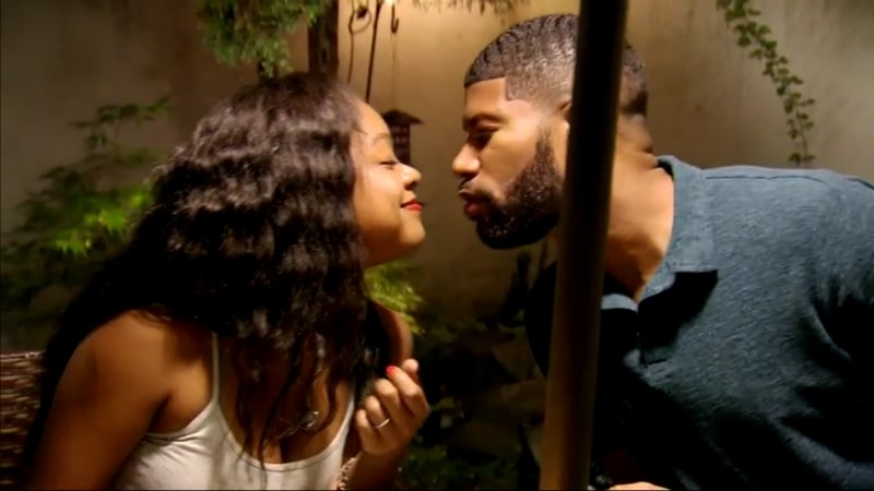 Kristine and Keith Kiss MAFS - MAFS star Keith still won't cook but Kristine seems to forgive him after this romantic gesture