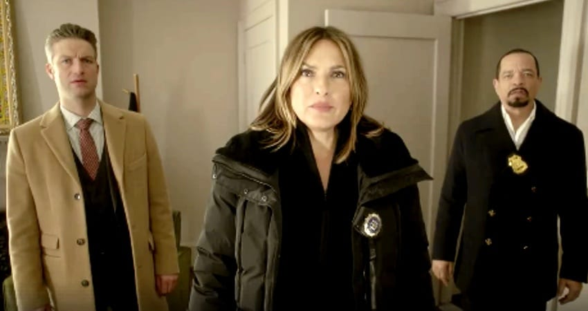 Mariska Hargitay and Ice T in new episode of Law & Order: SVU. Pic credit: NBC
