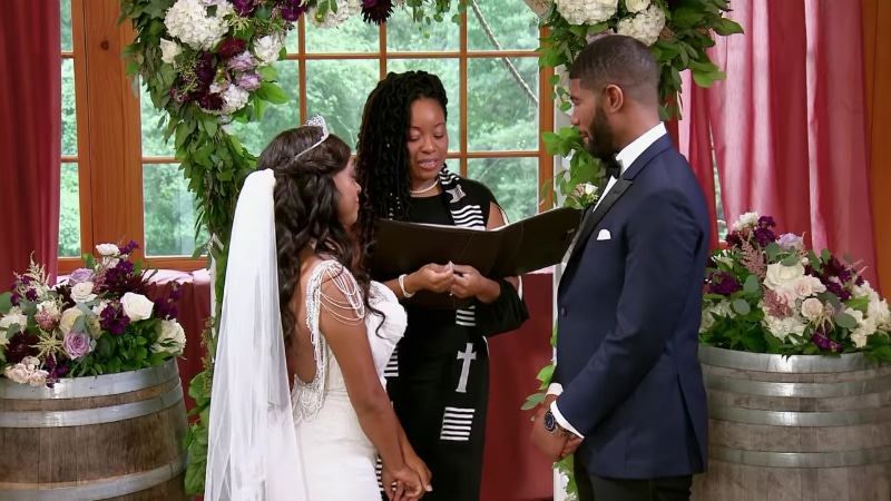 Kristine Killingsworth and Keith Dewar on Season 8 of Married at First Sight