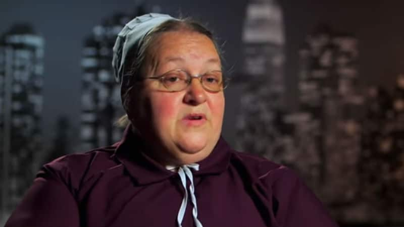Mary Schmucker in a Return to Amish confessional
