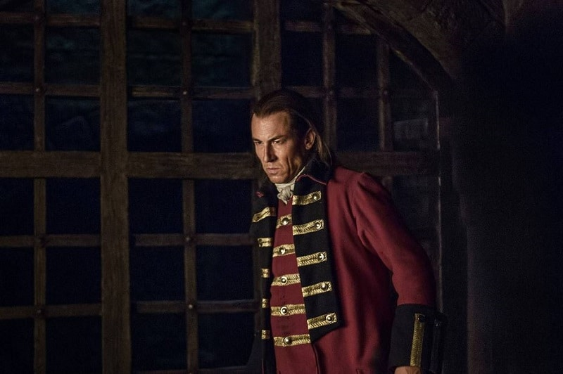 Tobias Menzies played Black Jack Randall and Frank Randall in Outlander
