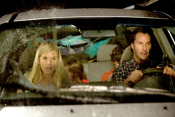 Alice Eve and Keanu Reeves