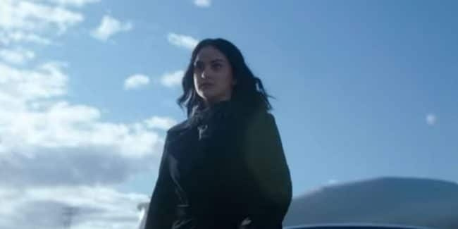 Camila Mendes as Veronica Lodge on Riverdale