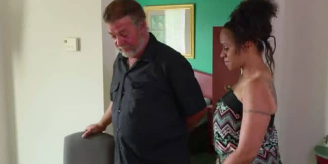 Scott getting a makeover from Lizzie on Love After Lockup