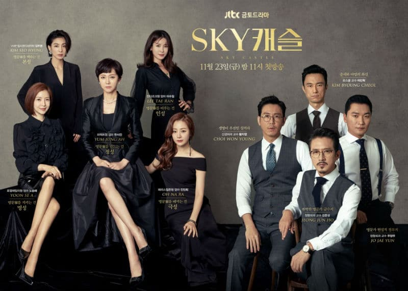 SKY Castle: JTBC K-Drama sets record for network and cable