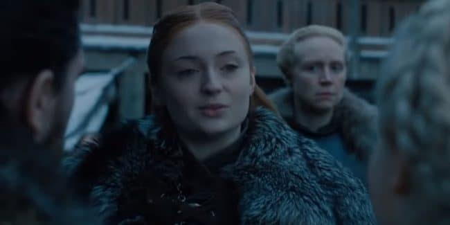 Sophie Turner as Sansa Stark in new Game of Thrones Season 8 trailer