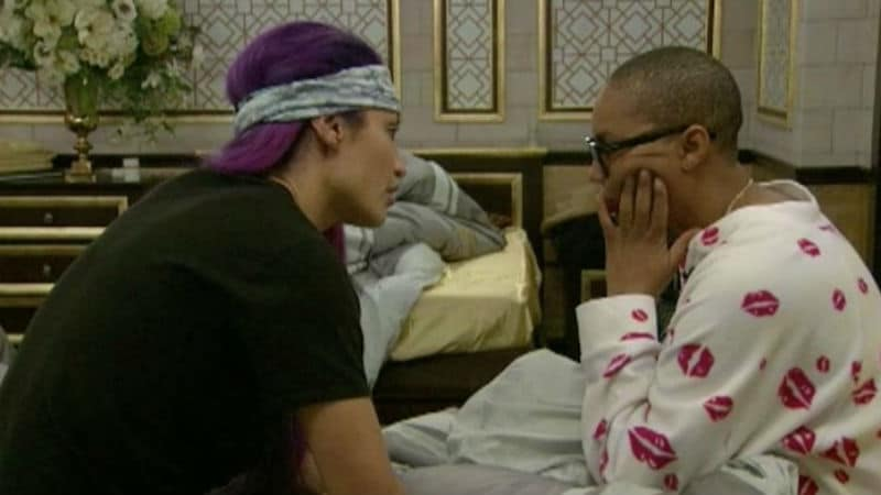 Natalie Eva Marie and Tamar on Celebrity Big Brother