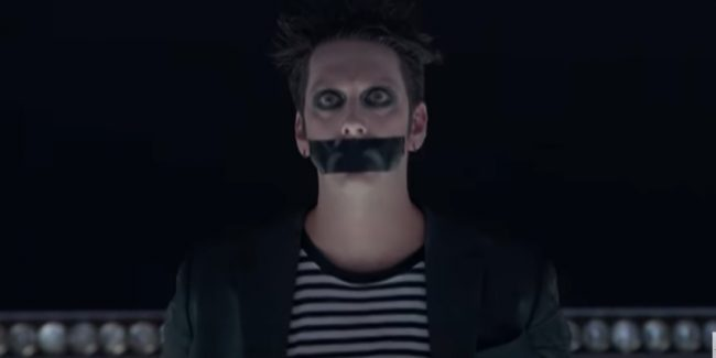 Tape Face performed during new America's Got Talent: The Champions episode
