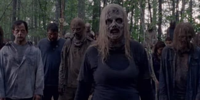 The Whisperers on a new episode of The Walking Dead.