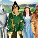 Tin Man, Scarecrow, Dorothy and Cowardly Lion from The Wizard of Oz