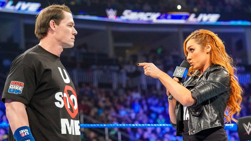 WWE News: John Cena reveals his true feelings about Becky Lynch