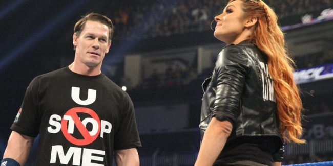 WWE News: John Cena reveals his true feelings about Becky Lynch