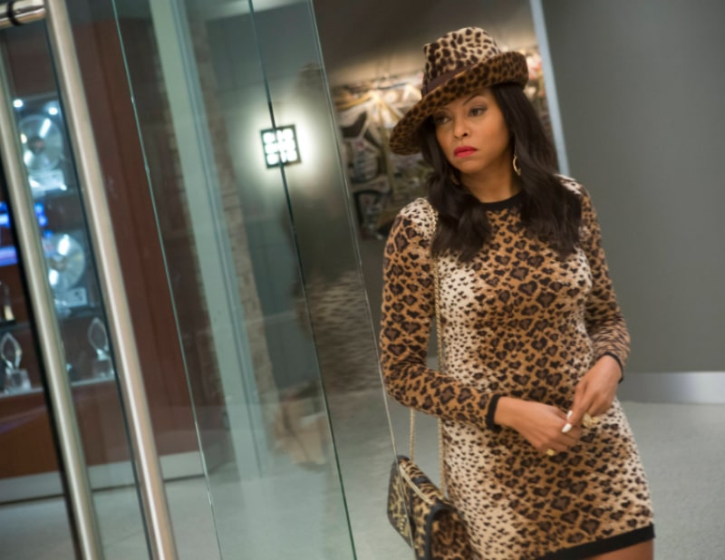 Taraji P. Hensen as Cookie Lyon on Empire