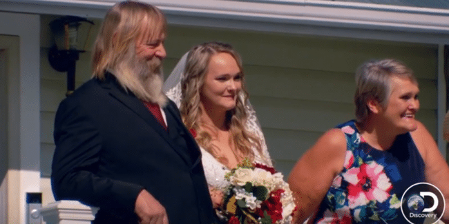 Gold Rush nuptials: See Monica Beets wed in emotional wedding ceremony