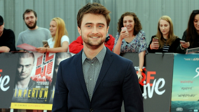 September 23 2016, London Daniel Radcliffe attends the premieres of Swiss Army Man and Imperium at the O2 Arena on September 23, 2016 in London, England.