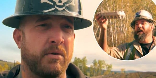 Rick Ness and eggs on Gold Rush