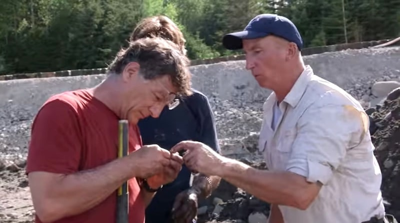 Marty Lagina and Gary Drayton on The Curse of Oak Island