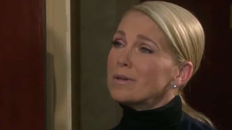 Jennifer looking anguished on Days of our Lives