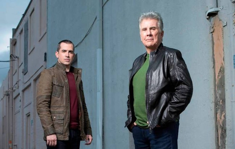john walsh callahan walsh in pursuit - Exclusive interview: John Walsh and son Callahan on new ID series 'In Pursuit' and America's denial of crime and gun violence
