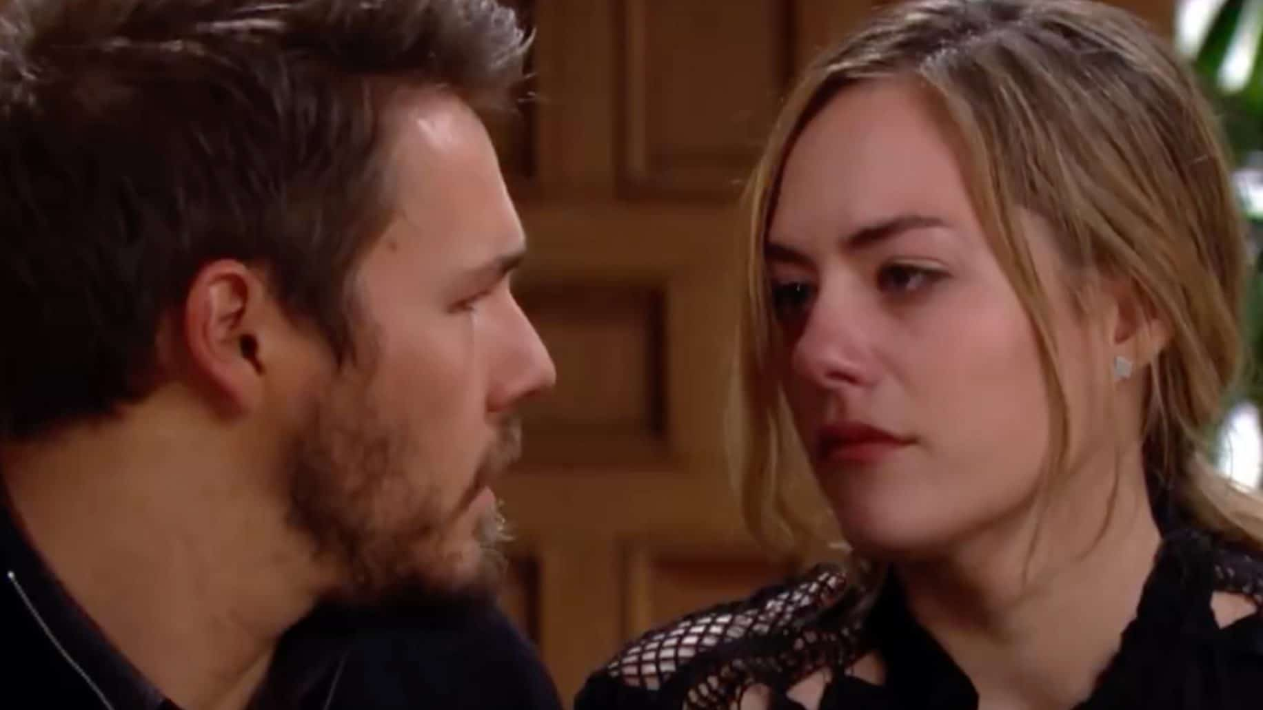 liam hope the bold and beautiful - The Bold and the Beautiful spoilers for next week: Reverberations from Lope's tragedy bring odd couples together and suspicious motives emerge