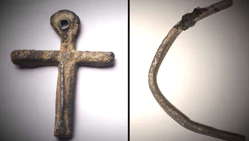 metal object oak island - The Curse of Oak Island: Metal object on new episode could be related to lead cross