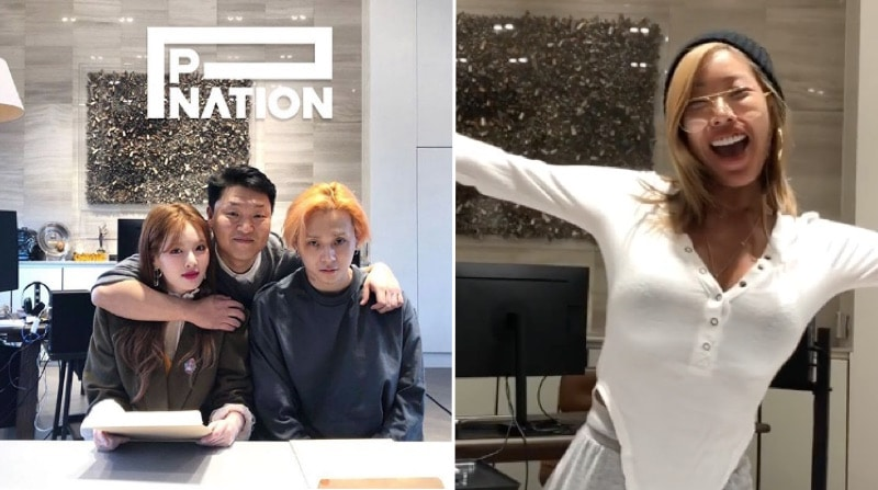 Jessi, Hyuna, and E'Dawn are the first three Korean musicians to sign on with Psy's new label, P-Nation