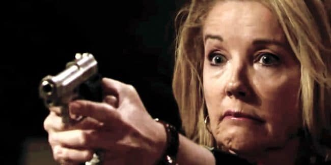 Who did Nikki shoot on The Young and the Restless?