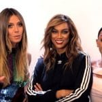 Heidi Klum, Tyra Banks, and Mel B working on America's Got Talent