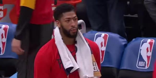 Anthony Davis shoulder injury serious or a way for Pelicans to avoid NBA fines?