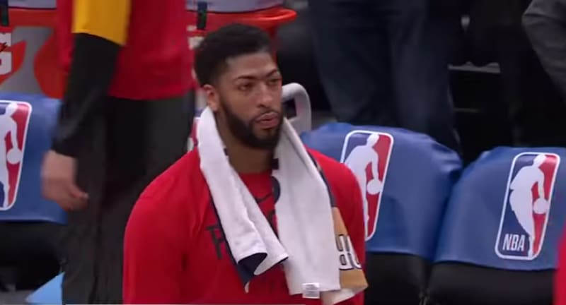 Anthony Davis shoulder injury - Anthony Davis shoulder injury serious or a way for Pelicans to avoid NBA fines?