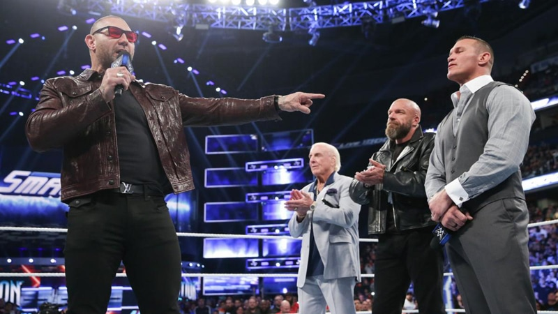 WWE Rumors: Batista in talks to return to the WWE in time for WrestleMania 35