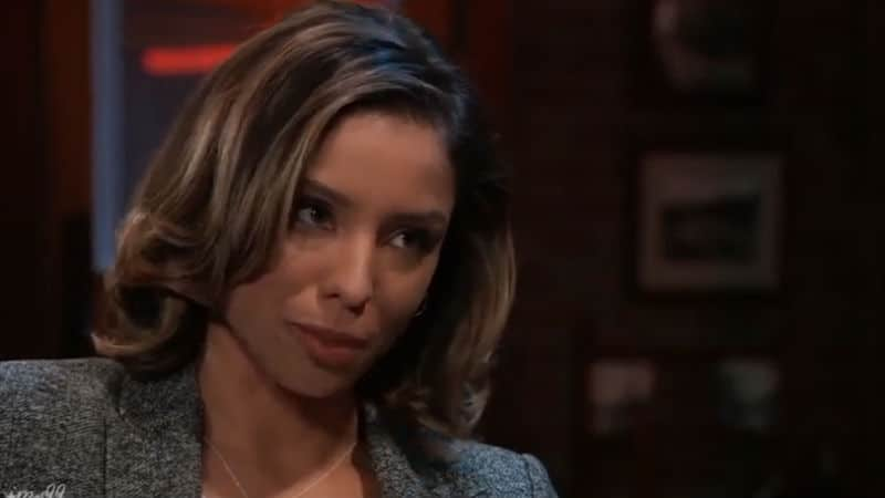 Brytni Sarpy as Valerie Spencer on General Hospital