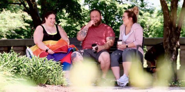 Whitney Thore meeting Chelsea Roark on My Big Fat Fabulous Life